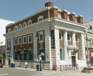 The Old Bank is now an Irish Pub.