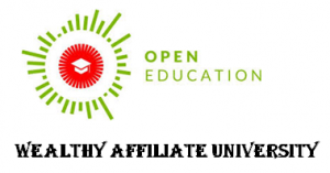 Link to Education at Wealthy Affiliate.