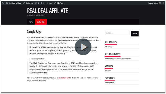 Image links to Wealthy Affiliate Training - Lesson 4