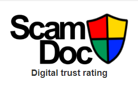 The image links to the ScamDoc home page
